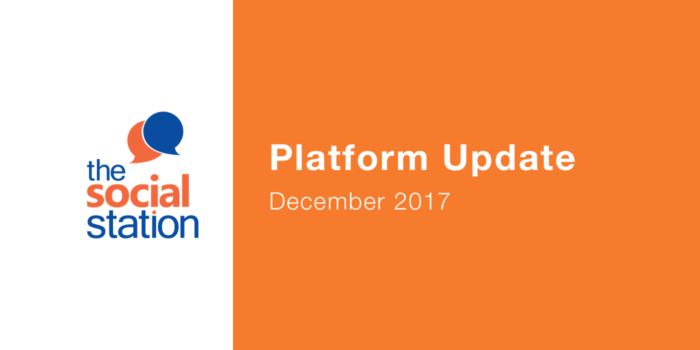 December 2017 Platform Update